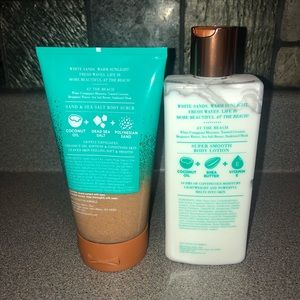 Other - At the Beach Lotion & Scrub (ACCEPTING OFFERS)